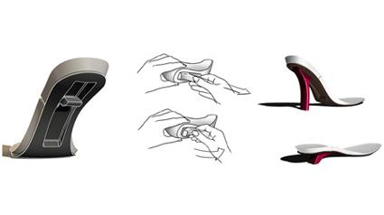 abs tze zum umklappen. Black Bedroom Furniture Sets. Home Design Ideas