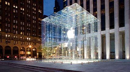 Velsete Apple Store aus Glas. AP-51