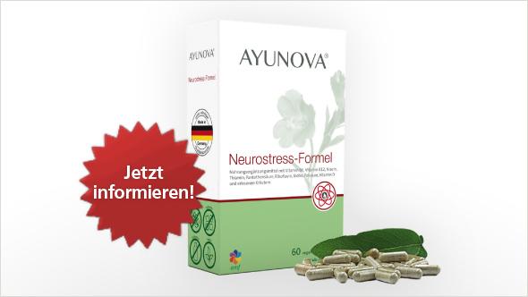 Jetzt informieren und bewerben: Ayunova® Neurostress- Formel im neuen trnd-Projekt.
