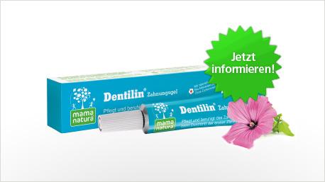 Dentilin Zahnungsgel im neuen trnd-Projekt.
