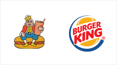 In seiner ersten Version zeigte das Burger King Logo noch einen kleinen König.