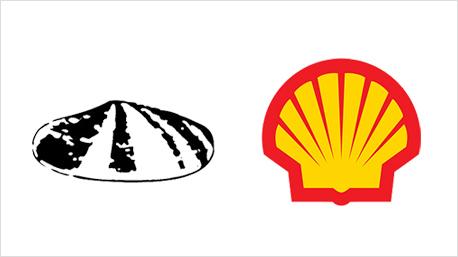 Die Shell Muschel ist dem Markensymbol des Unternehmens erhalten geblieben - ihr Design hat sich aber stark geändert.