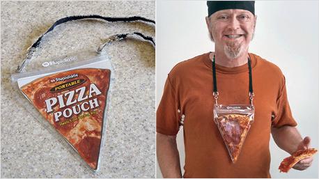 Nummer 4: Die Pizza Pouch (Bildquelle: stupidiotic.com)