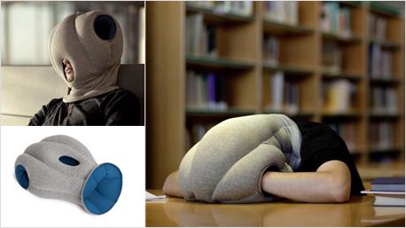 Nummer 5: Das Ostrich Pillow (Bildquelle: ostrichpillow.com)