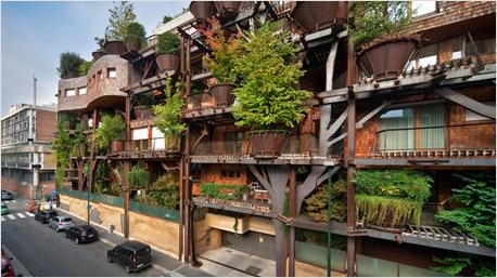 Das Baumhaus in der Stadt