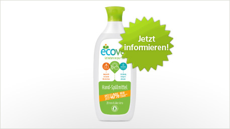 """Das Ecover Hand-Spülmittel """"Zitrone & Aloe Vera"""" im neuen trnd-Projekt"""