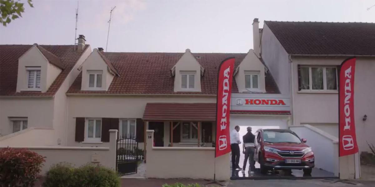 Honda at Home - ein Autohaus im eigenen Zuhause.