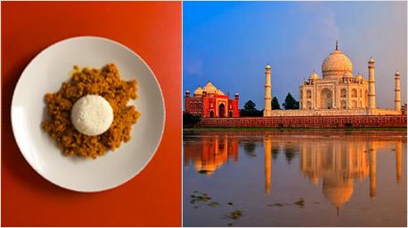 Dal aus roten Linsen - ein traditionelles Gericht in Indien und Pakistan.