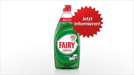 Fairy Ultra Plus Konzentrat im neuen trnd-Projekt.