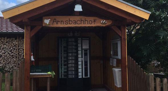 Eier vom Arnsbachhof in Ersrode, Hessen.