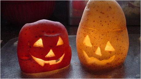grusel ananas statt halloween k rbis