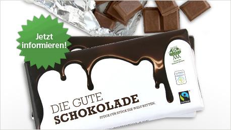 Die Gute Schokolade im trnd-Projekt