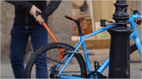 Verschiedene Fahrradschlösser stellten sich dabei dem Realitätstest ...