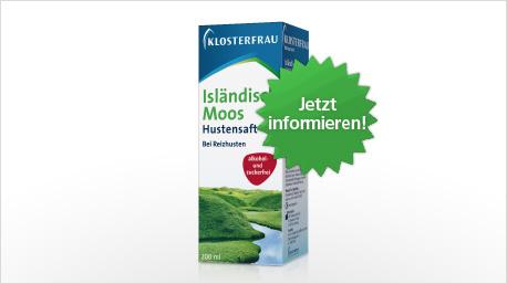 Isländisch Moos Hustensaft im neuen trnd-Projekt