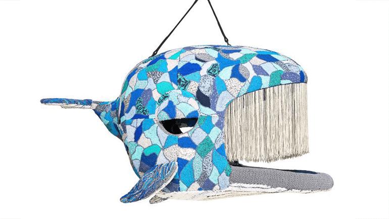 ... und der fast biblisch anmutende Platz im Bauch des Blauwals.