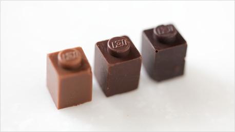 lego steine aus schokolade. Black Bedroom Furniture Sets. Home Design Ideas