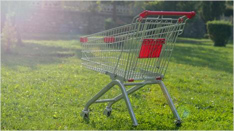 Grün einkaufen wird immer öfter belohnt.
