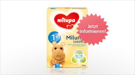 Milupa Milumil Kindermilch im neuen trnd-Projekt.