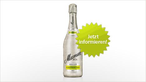 Mumm Dry Alkoholfrei im trnd-Projekt.