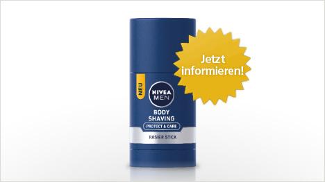NIVEA MEN Body Rasier Stick im neuen trnd-Projekt.