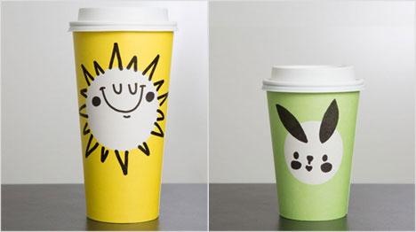 Starbucks Becher mit Frühlingsmotiven (Bild: https://news.starbucks.com/news/starbucks-spring-cups-2017)