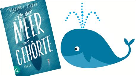 Patschaft für einen Wal als Aktion um ein Buch bekannt zu machen.