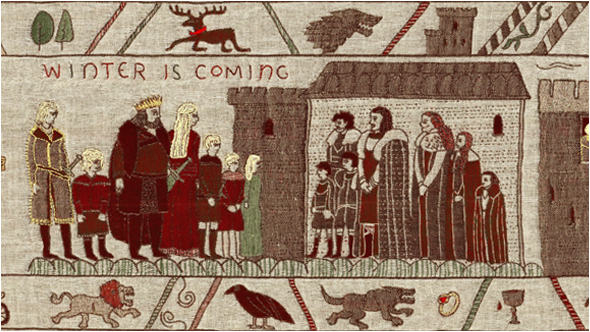 """Ein Wandteppich erzählt die Geschichte von """"Game of Thrones"""" nach - Tourism Ireland."""