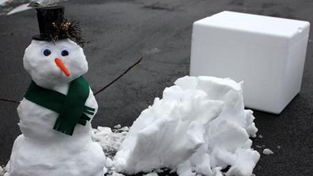 Wer in den USA seinen Schnee vermisst, kann ihn über den Lieferservice  shipsnowyo bestellen. (Bilder: www.shipsnowyo.com)