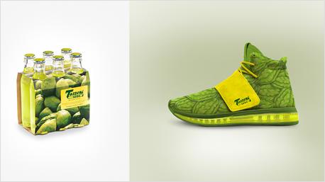 Die Zitronenlimonade Cedrata Tassoni Soda ist heute noch erhältlich, allerdings in neuem Design.