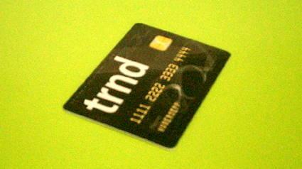 die trnd-Card