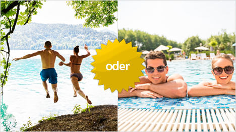 Raus in die Natur oder rein ins Freibad - was ist Euer Favorit?
