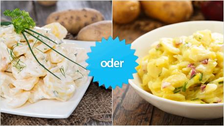 Kartoffelsalat lieber mit Mayo- oder Essig-Öl-Dressing?