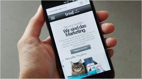trnd-Webseite jetzt auch für mobile Geräte optimiert