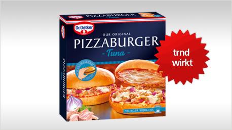 trnd wirkt neue pizzaburger sorte von dr oetker. Black Bedroom Furniture Sets. Home Design Ideas