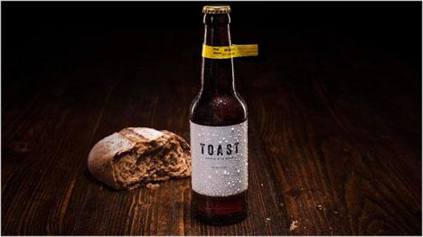 Wie verkauft sich altes Brot am besten? Genau, als Bier - und das ist kein Marketing-Gag. (Bild: https://www.facebook.com/pg/toastale/photos/)