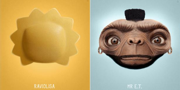 ... Lisa Simpson wird zur Ravioli, Mr. T trifft auf E.T. ...
