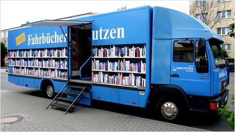 Bücherbus aus Bautzen