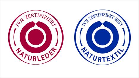 Die Siegel des IVN zertifizieren Textilien oder Leder jeweils getrennt voneinander. (Quelle: http://naturtextil.de)