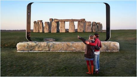Auch Stonehenge gehört zu den ausgewählten Orten für die Marketing-Aktion von Samsung.