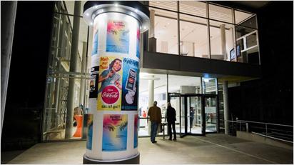 Werbung für die Werbe-Ausstellung.