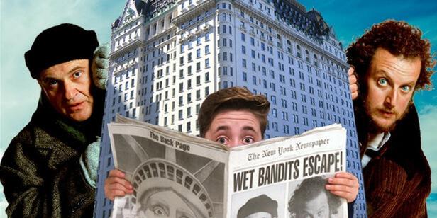 Wohnen wie Kevin allein in New York.