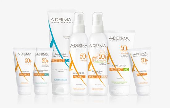 A-DERMA Protect Produktserie
