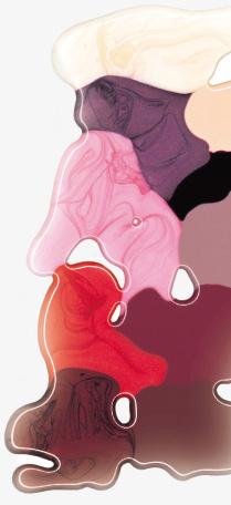 Farbverlauf Art Couture Nail Lacquer.