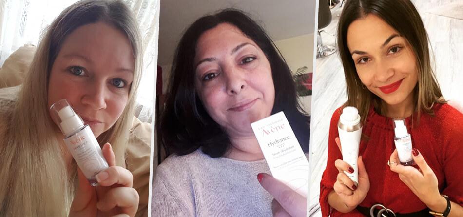 1.000 trnd-Partnerinnen haben das Hydrance INTENSE Feuchtigkeitsserum selbst ausprobiert ...