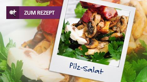 BodyChange Classic: Pilz-Salat