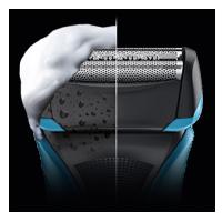 Die Wet & Dry Funktion des Braun WaterFlex