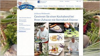 Gewinne einen Kochabend bei Dir Zuhause mit Sternekoch Etienne.