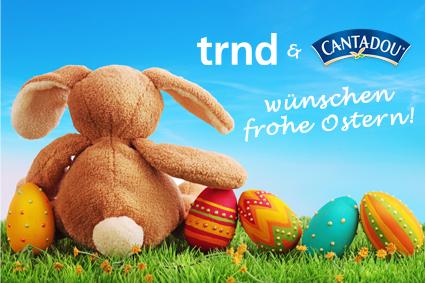 Cantadou und trnd wünschen frohe Ostern!
