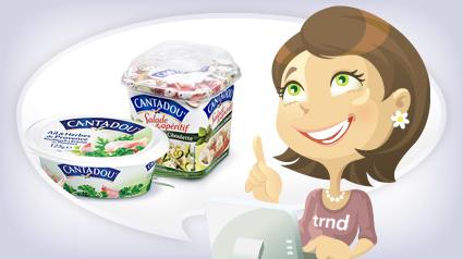 Feedback geben im Projekt mit den Cantadou Produkten.