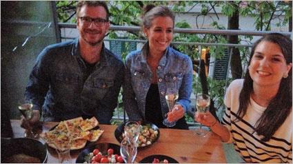 Glückliche Cantadou-Gäste bei trnd-Partner silberli.